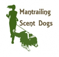 Mantrailing Scent Dogs logo