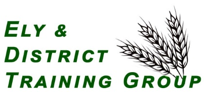 Ely & District Training Group logo